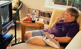 television addiction causes obesity